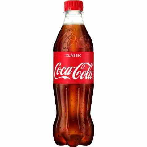 Bilde av Coca Cola plast 0,5.
