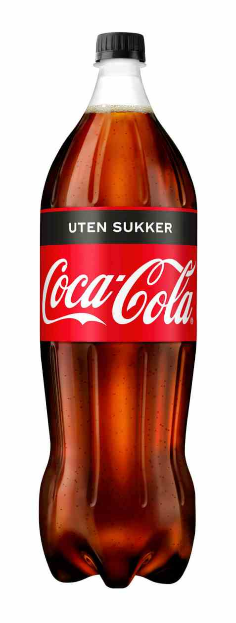 Bilde av Coca Cola uten sukker plast 1.75 liter.