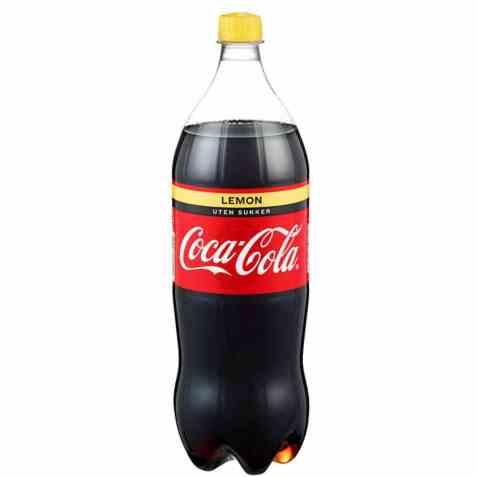 Bilde av Coca Cola lemon uten sukker plast 1.5 liter.