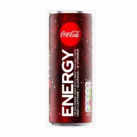 Bilde av Coca Cola energy boks 0,25 l.