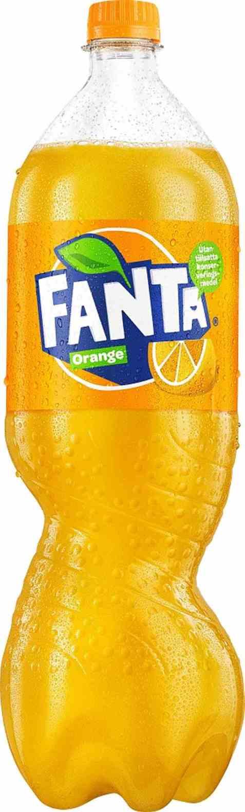 Bilde av Fanta Orange 1,5 liter.