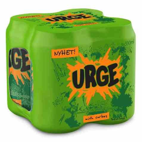 Bilde av Urge original boks 0,33 l 4 pack.