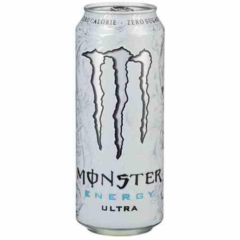 Bilde av Monster energy ultra white.