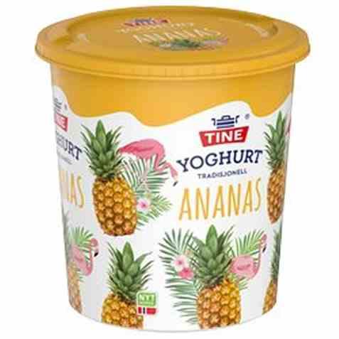 Bilde av TINE Yoghurt ananas 850 gr.