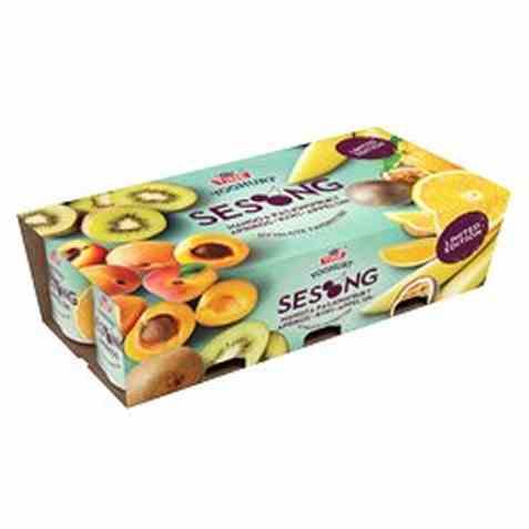 Bilde av Tine Yoghurt Vårfrisk mango og pasjonsfrukt.