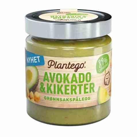 Bilde av Mills plantego avokado og kikerter grønnsakspålegg.