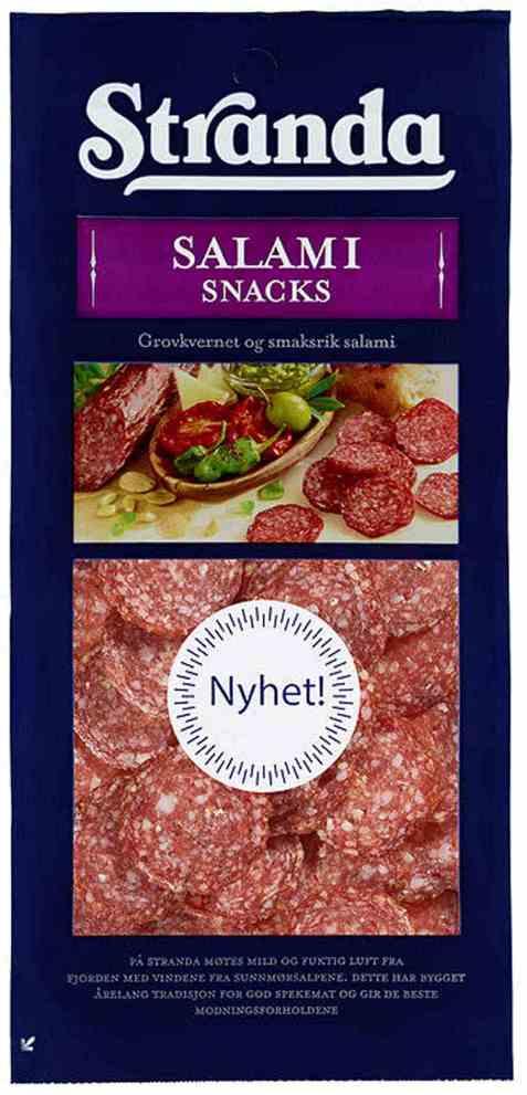 Bilde av Grilstad stranda salami snacks 100 gr.