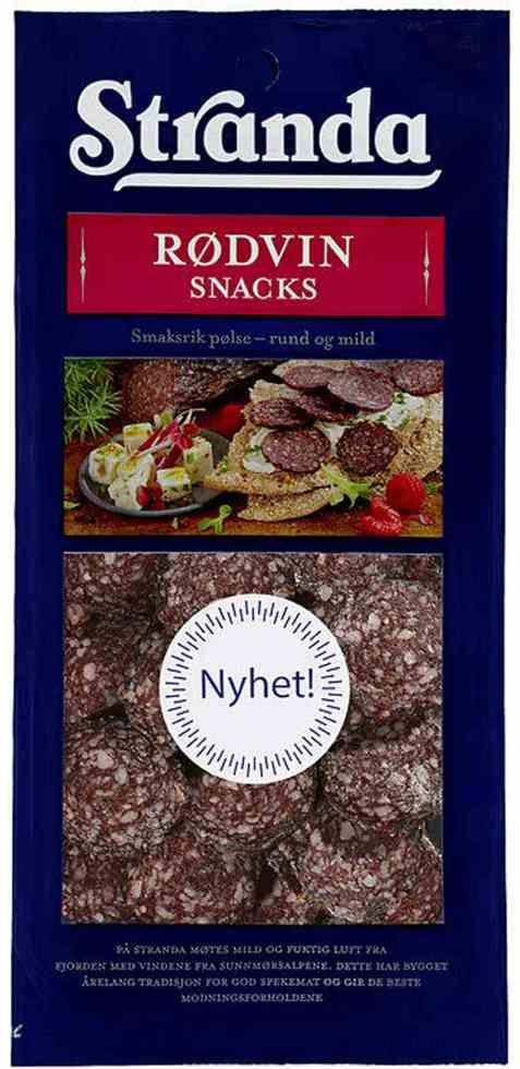 Bilde av Grilstad stranda rødvin snacks 100 gr.