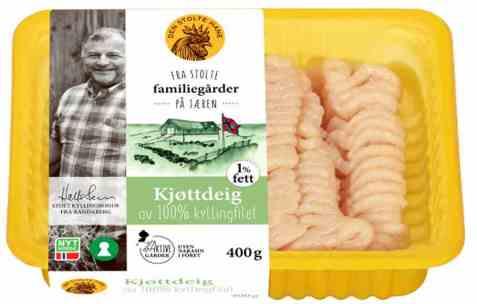 Bilde av Den stolte hane kjøttdeig av kyllingfilet.