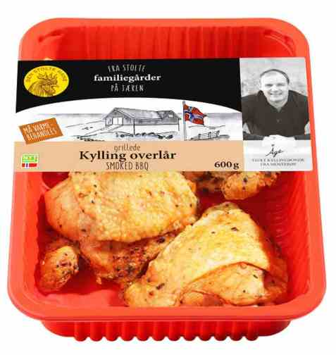 Bilde av Den stolte hane grillede kylling overlår smoked bbq.