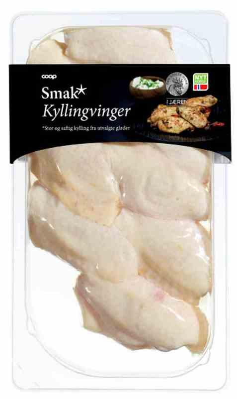 Bilde av Den stolte hane smak kyllingvinger.