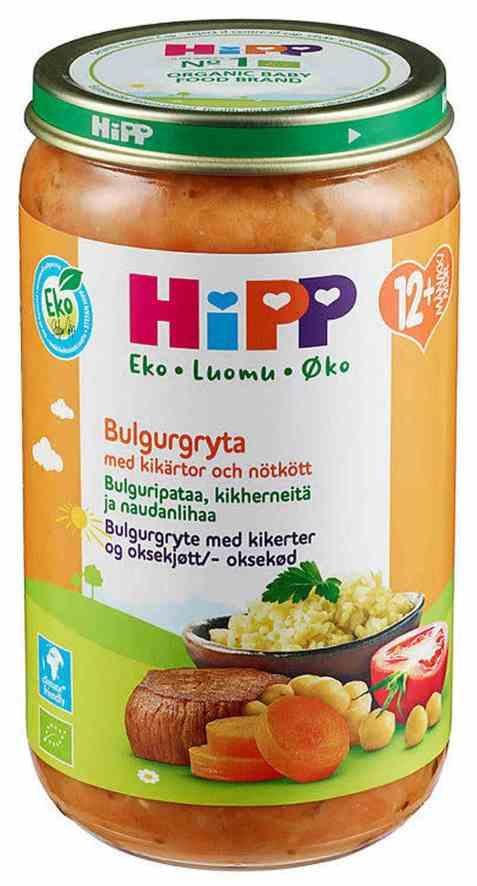 Bilde av Hipp bulgur med biff 12 mnd.