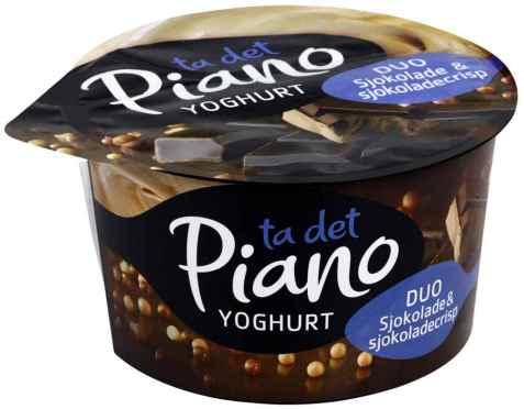 Bilde av Tine Piano Duo Yoghurt Sjokolade og sjokocrisp.