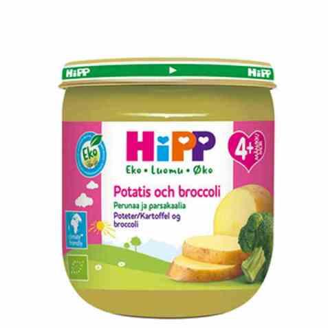 Bilde av Hipp potet og brokkoli.