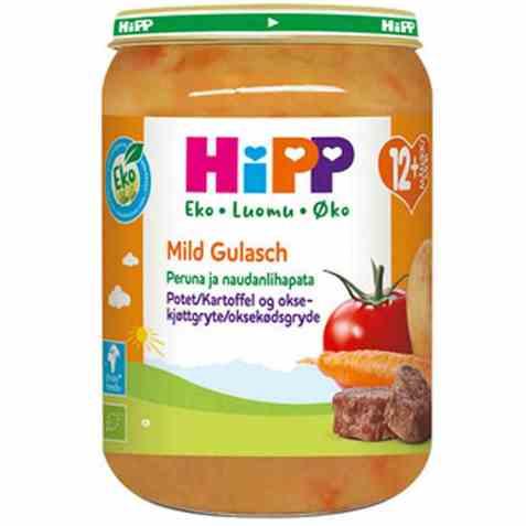 Bilde av Hipp potet og oksekjøttgryte.