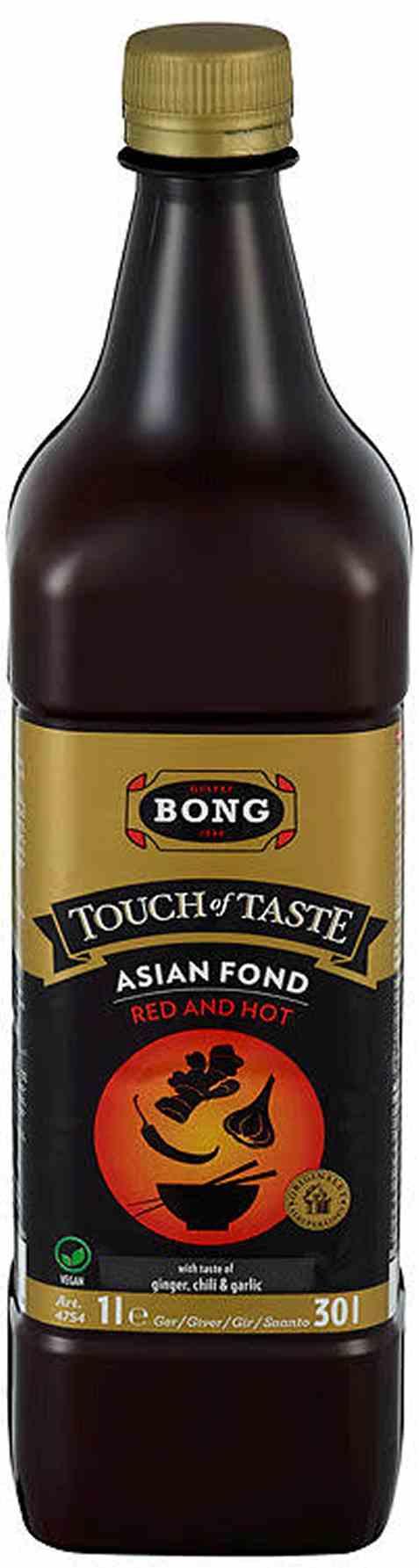 Bilde av Touch of Taste red and hot fond 1 liter.