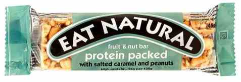 Bilde av Eat natural bar salted caramel and peanut.