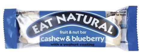 Bilde av Eat natural bar cashew and blueberry.