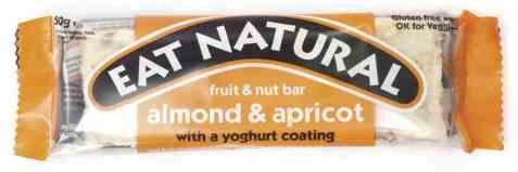 Bilde av Eat natural bar apricot and youghurt.