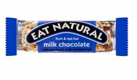Bilde av Eat natural bar milk chocolate.
