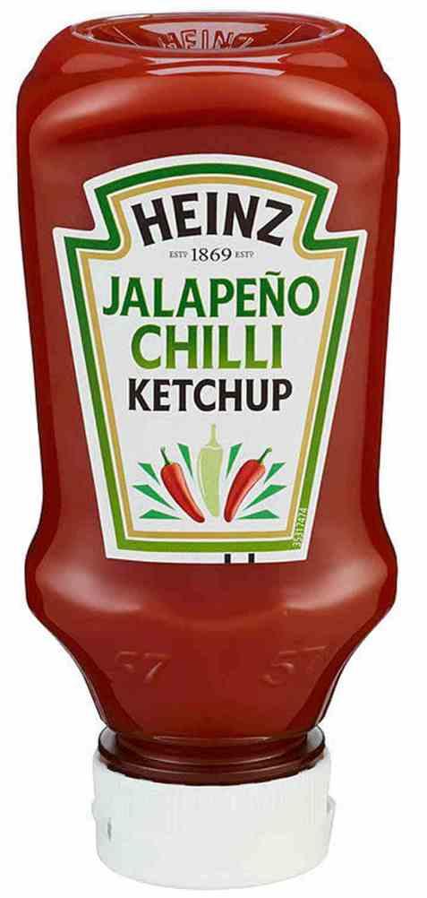 Bilde av Heinz ketchup jalapeno chili 250 gr.