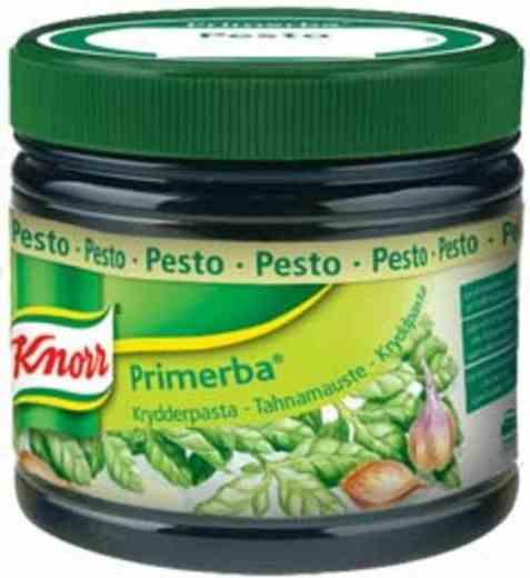 Bilde av Knorr pesto krydderpasta.