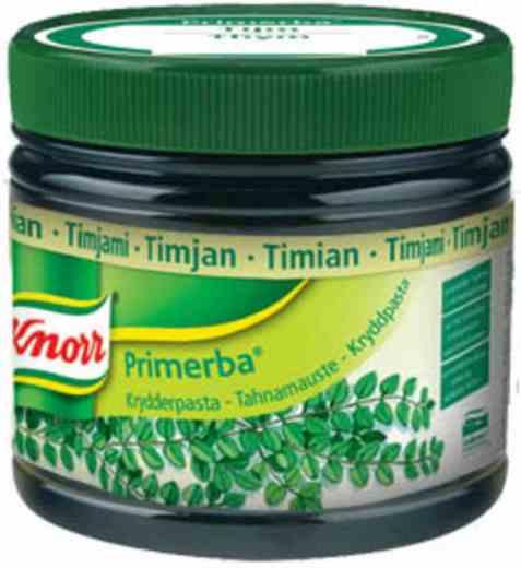 Bilde av Knorr timian krydderpasta.