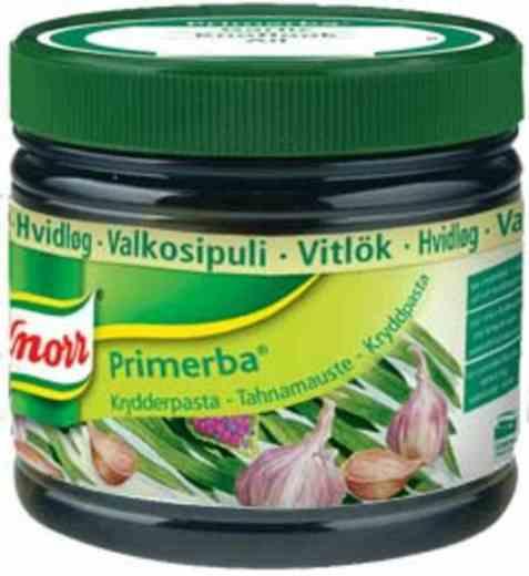 Bilde av Knorr hvitløk krydderpasta.