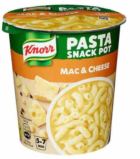 Bilde av Knorr pasta snack pot mac and cheese.