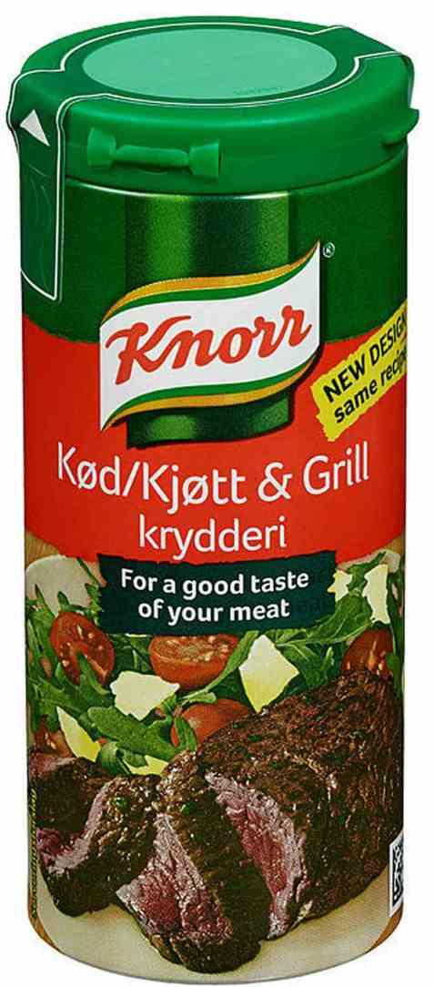 Bilde av Knorr kjøtt og grillkrydder 90 gr.