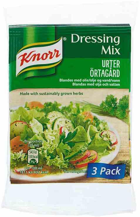 Bilde av Knorr urter dressingmix.