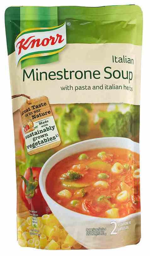 Bilde av Knorr minestrone suppe 570 ml.