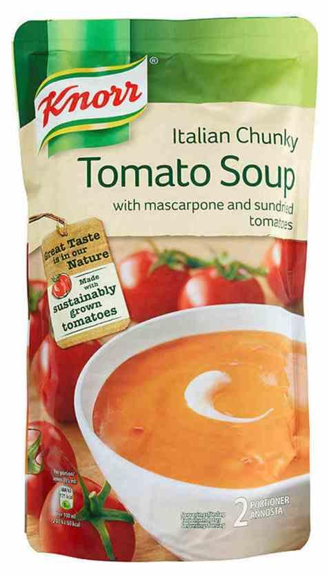 Bilde av Knorr tomatsuppe med mascarpone 570 ml.