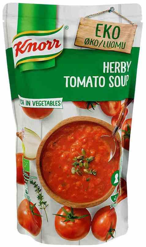 Bilde av Knorr tomatsuppe økologisk.