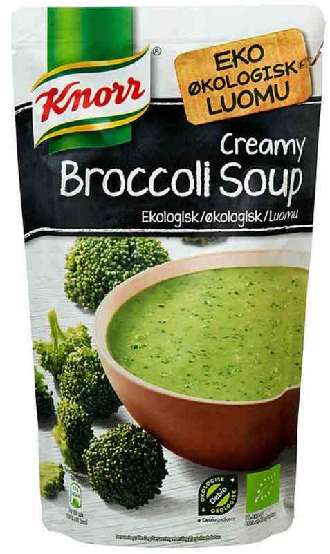 Bilde av Knorr brokkolisuppe økologisk.