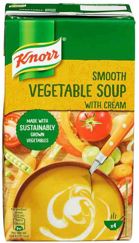 Bilde av Knorr grønnsakssuppe 1 l.
