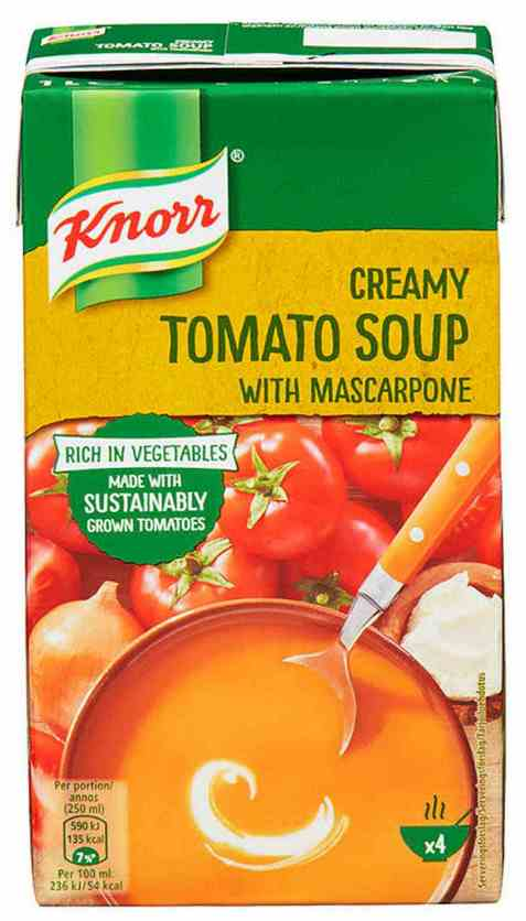 Bilde av Knorr tomatsuppe med mascarpone 1 l.