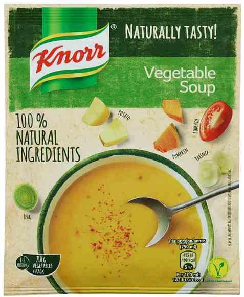 Bilde av Knorr grønnsaks suppe 62 gr.