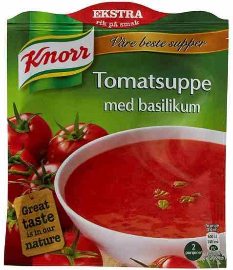 Bilde av Knorr tomatsuppe med basilikum 71 gr.