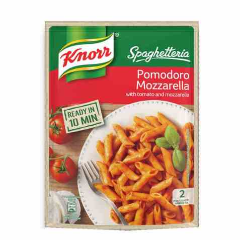 Bilde av Knorr Spaghetteria Pomodoro-Mozzarella.