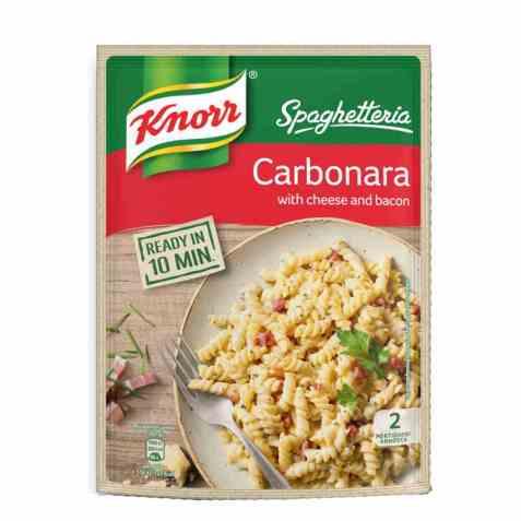Bilde av Knorr Spaghetteria Carbonara.