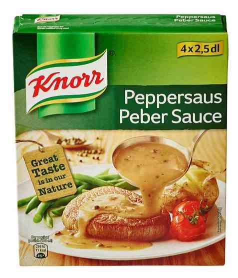 Bilde av Knorr peppersaus 4 pakke.