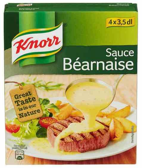 Bilde av Knorr bearnaisesaus 4 pakke.