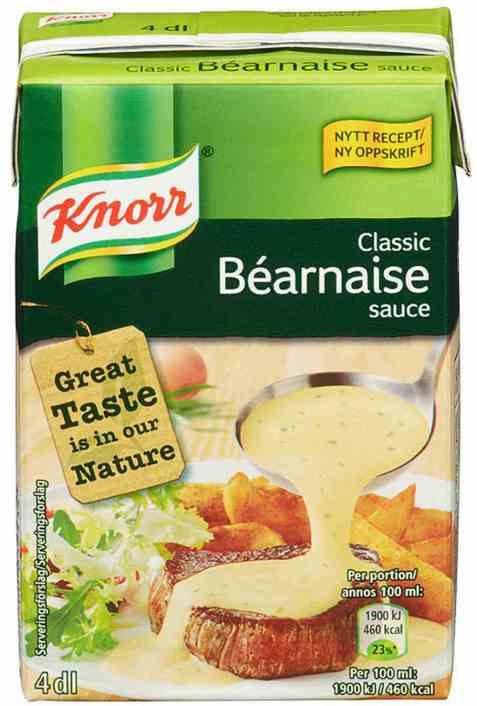 Bilde av Knorr bearnaisesaus ferdig 400 ml.