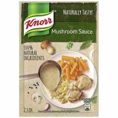 Bilde av Knorr mushroom sauce.
