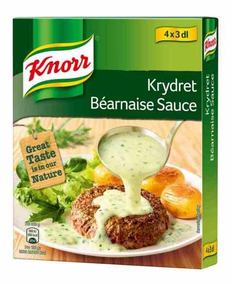 Bilde av Knorr krydder bearnaisesaus 4 pakke.