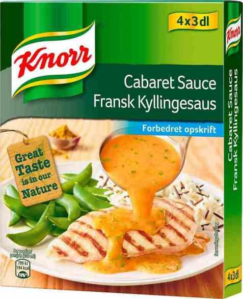 Bilde av Knorr fransk kyllingsaus 4 pakke.