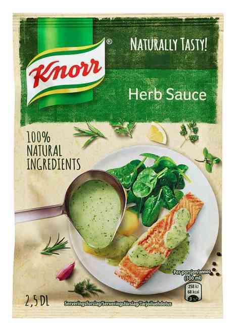 Bilde av Knorr kremet urtesaus.