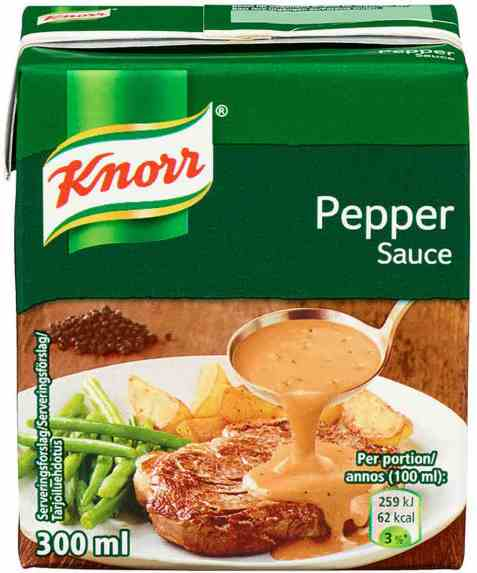 Bilde av Knorr peppersaus 300 ml.