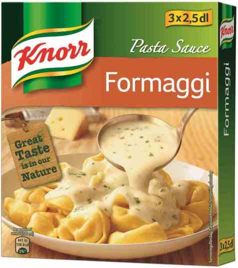 Bilde av Knorr pastasaus quattro formaggi 3 pakke.